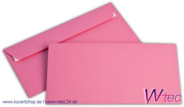 C6/5 Colorpapierkuverts in Eosinrot, ohne Fenster (500 Kuverts = 66,50 EURO)