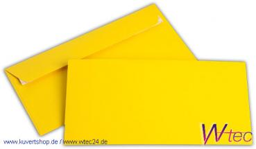 C6/5 Colorpapierkuverts in Goldgelb, ohne Fenster (500 Kuverts = 66,50 EURO)